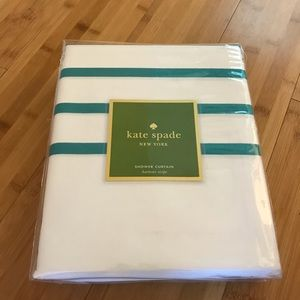 NWT Kate Spade Harbour Stripe Shower Curtain
